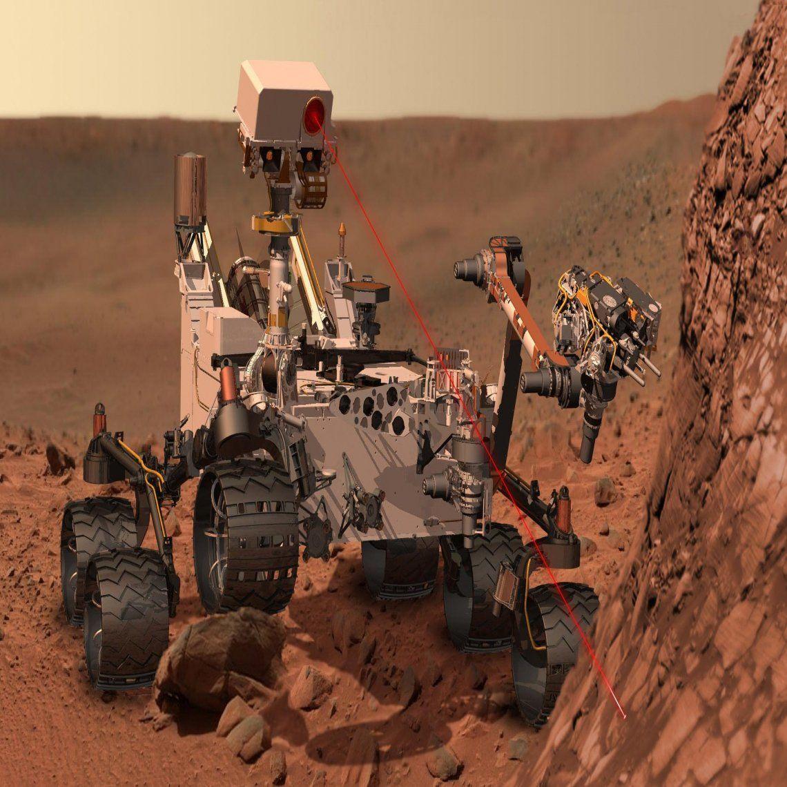 NASA: Curiosity encontró algo inesperado en Marte
