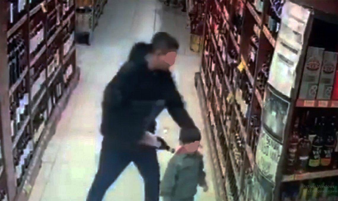 Quilmes: utilizó a su hijo de 5 años para robar fernet