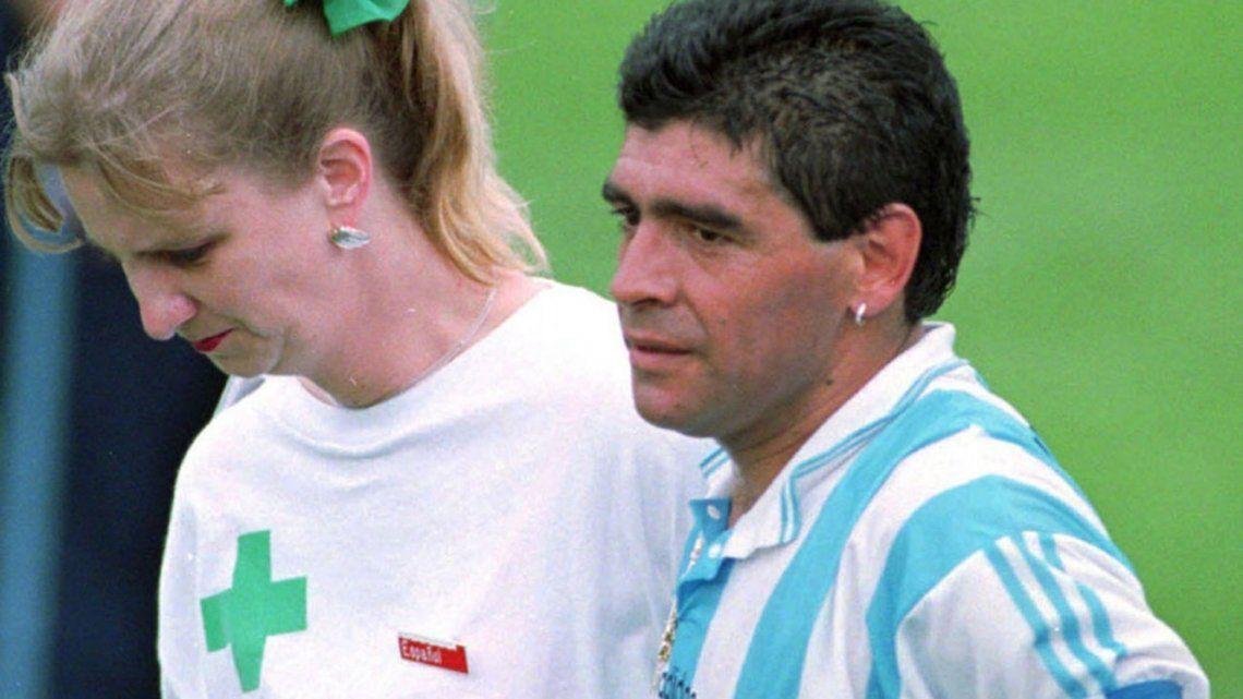 A 25 años del último partido de Diego Maradona con la Selección Argentina: la incertidumbre de Sergio Vázquez, la enfermera y un dolor irrefrenable