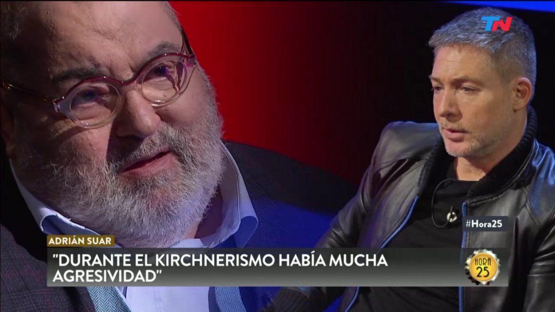 Kirchnerismo, rating y futuro: las frases de Adrián Suar en su entrevista con Jorge Lanata