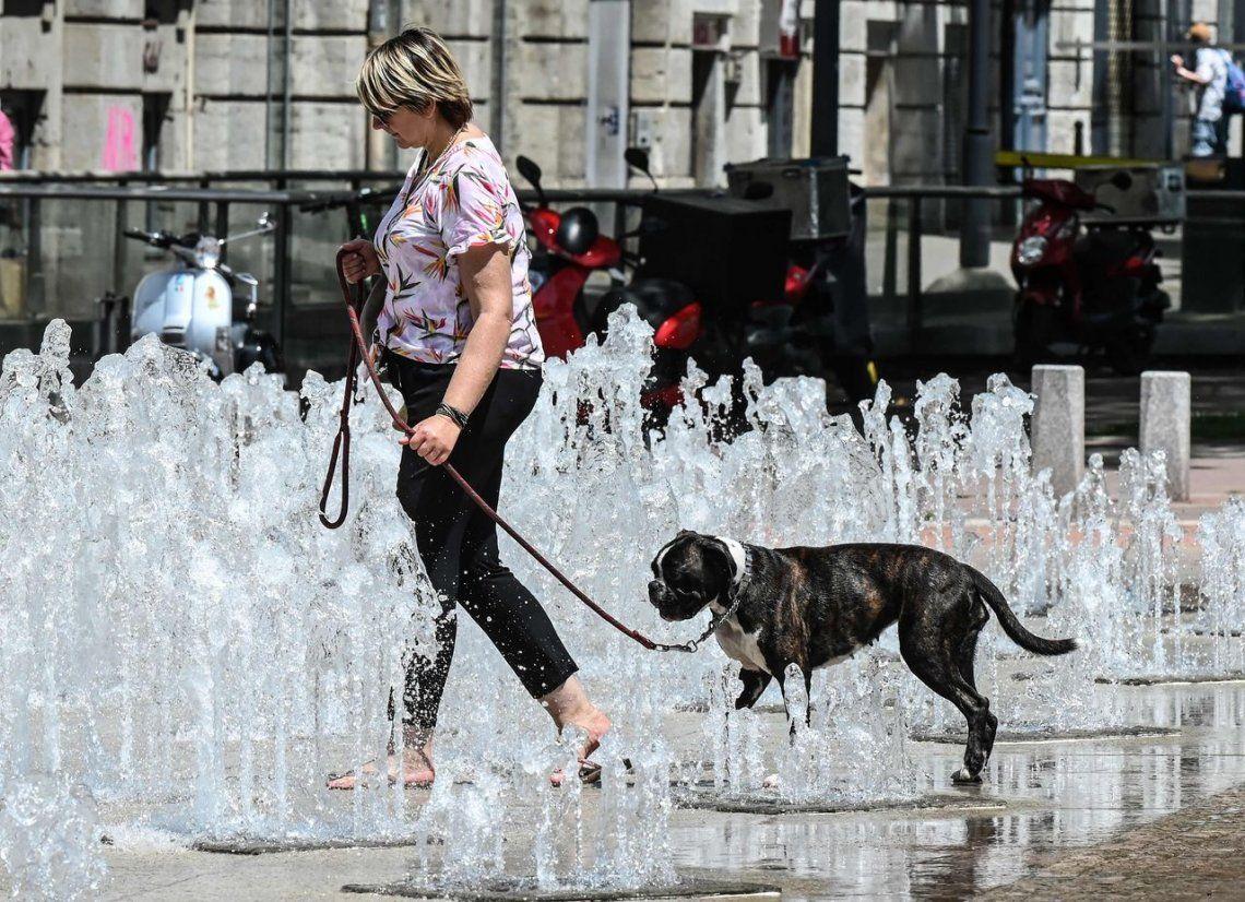 Alerta por una intensa ola de calor en Europa