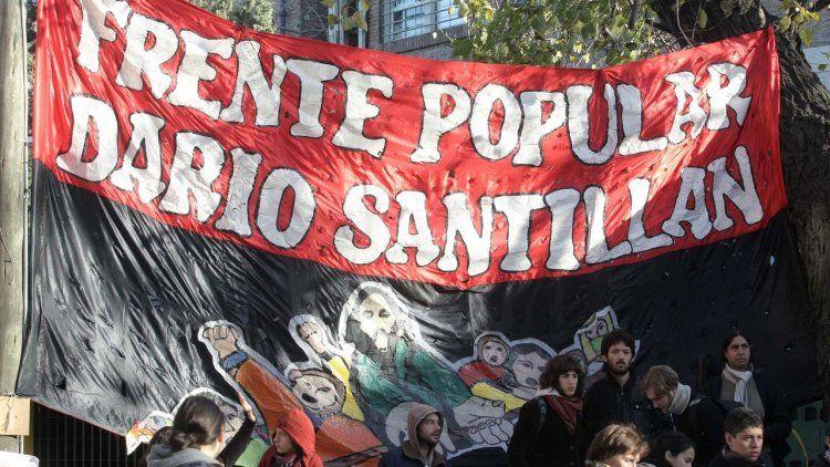 Marcha al puente Pueyrredón, a 17 años del asesinato de Kosteki y Santillán