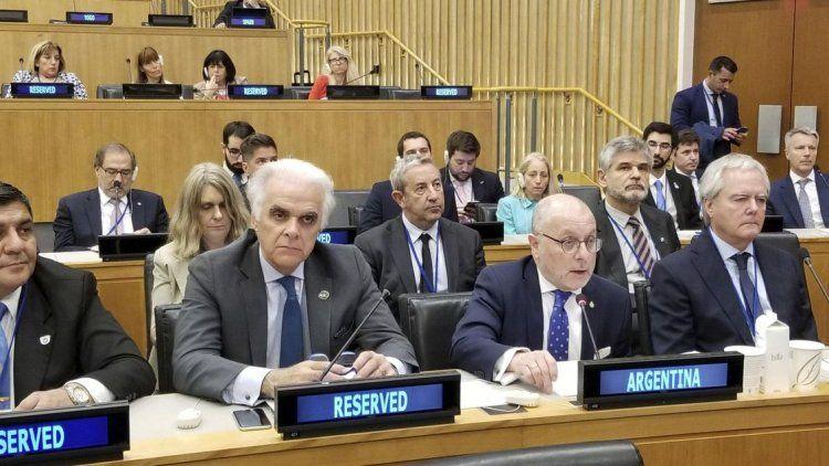 La ONU instó a que la Argentina y el Reino Unido retomen las negociaciones