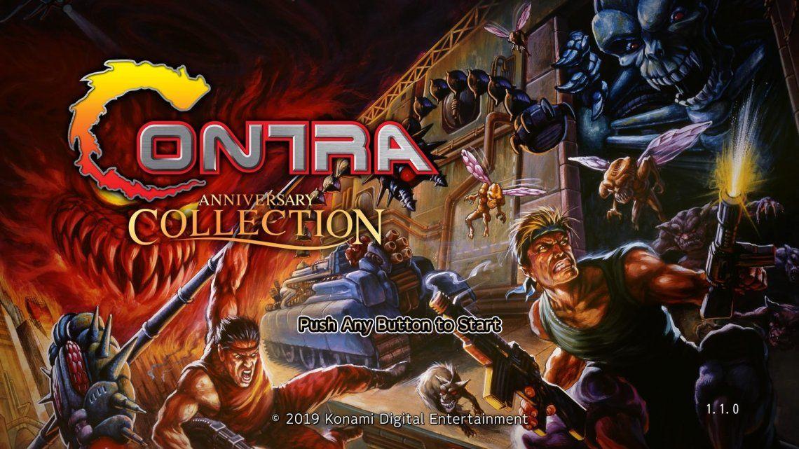 Contra Anniversary Collection: el regreso triunfal de una de las sagas más exitosas de Konami