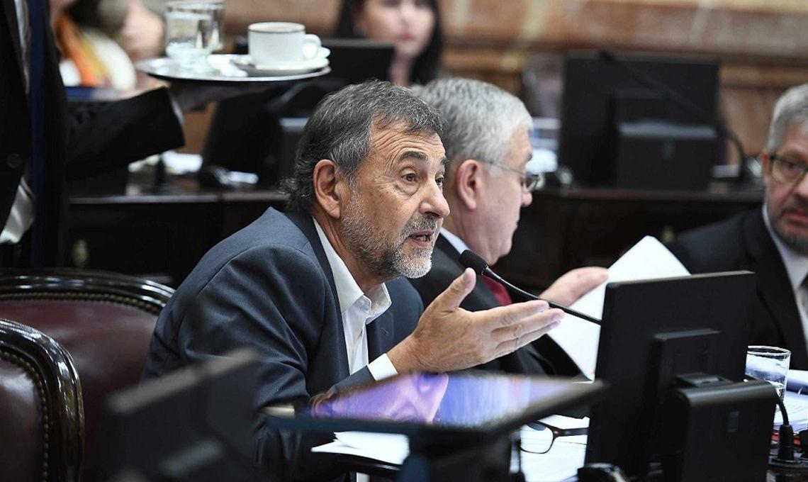 Tras la renuncia de Pichetto, Carlos Caserio es el nuevo presidente del PJ en el Senado