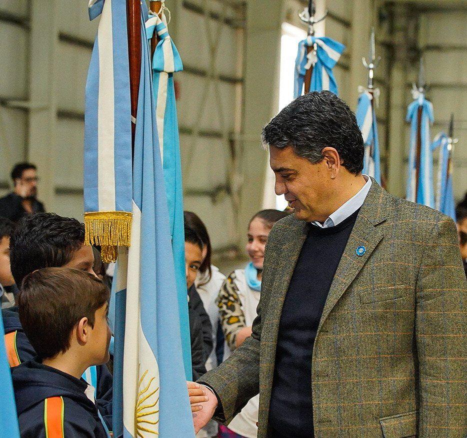 El intendente Jorge Macri formó parte de la emotiva jornada.