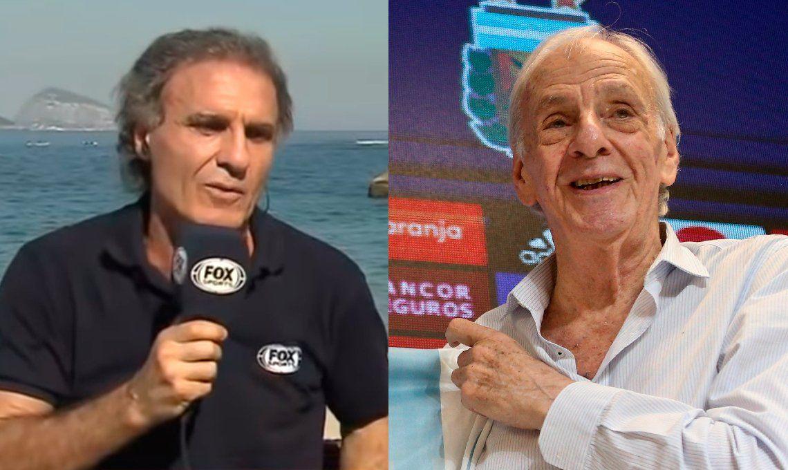 Oscar el Cabezón Ruggeri quiere reemplazar a César Luis Menotti como manager de la Selección Argentina: Basta de versear, hay que dejar de ser cagones