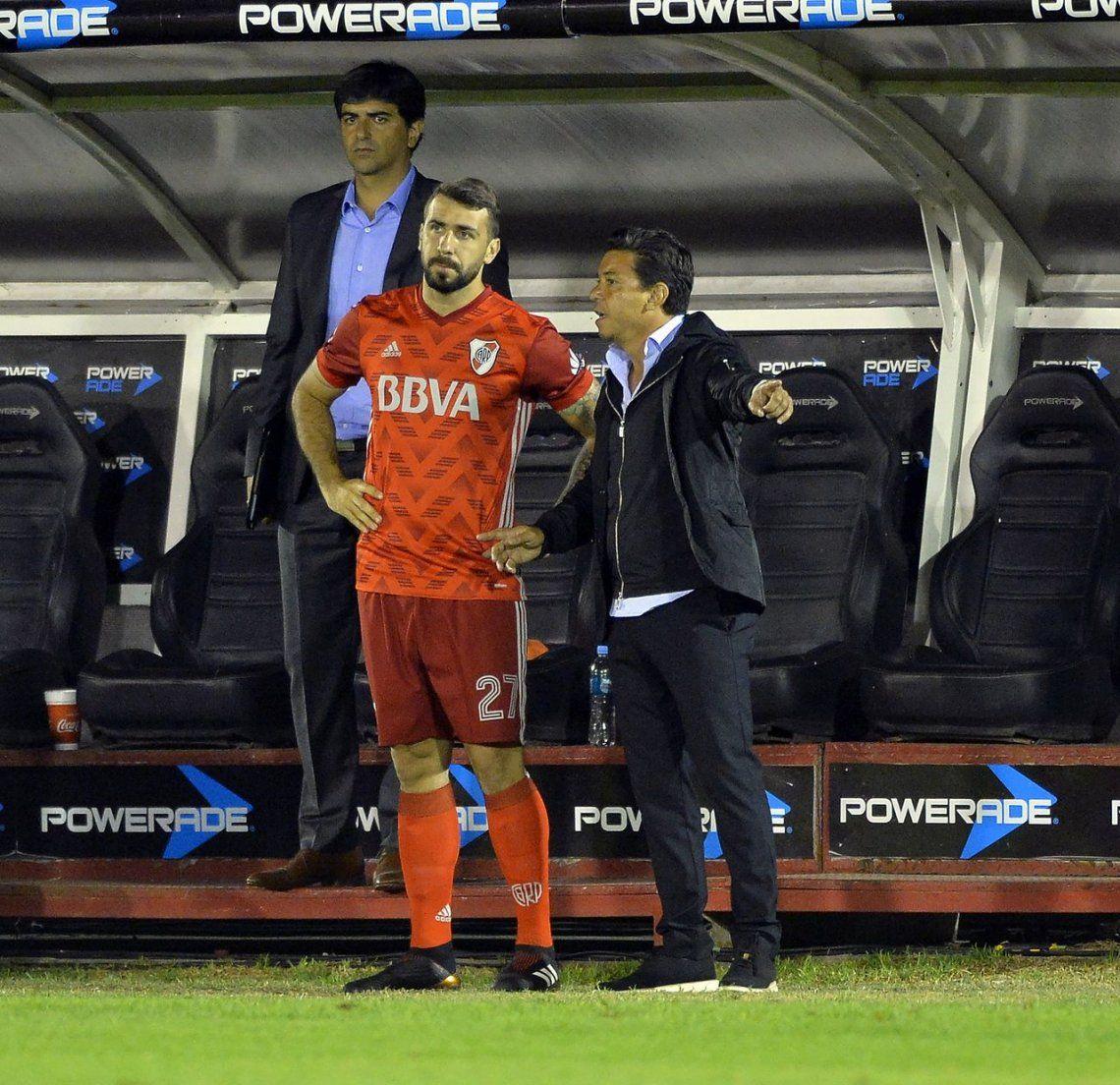 Gallardo diseña el once titular: ¿se va Pratto a Francia?