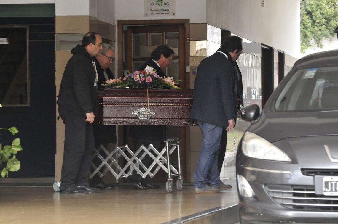 Despidieron los restos de Isabel Coca Sarli en el Cementerio de Olivos