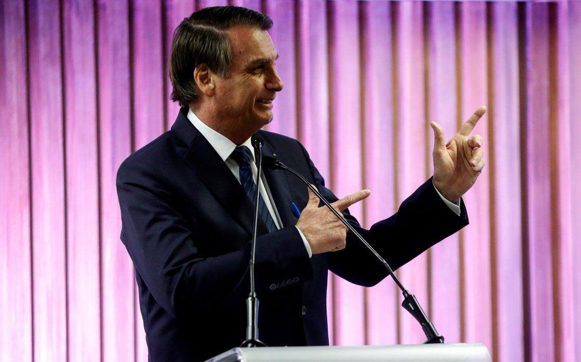Bolsonaro ofreció la inmediata colaboración de Brasil para esclarecer el hecho.