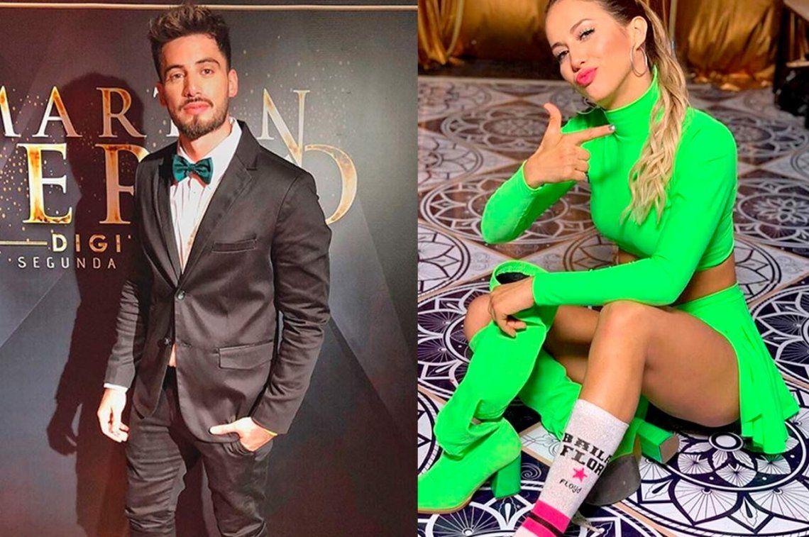 Super Bailando 2019: A Flor Vigna le trajeron a su ex, Nico Ochiatto, para que compita contra ella