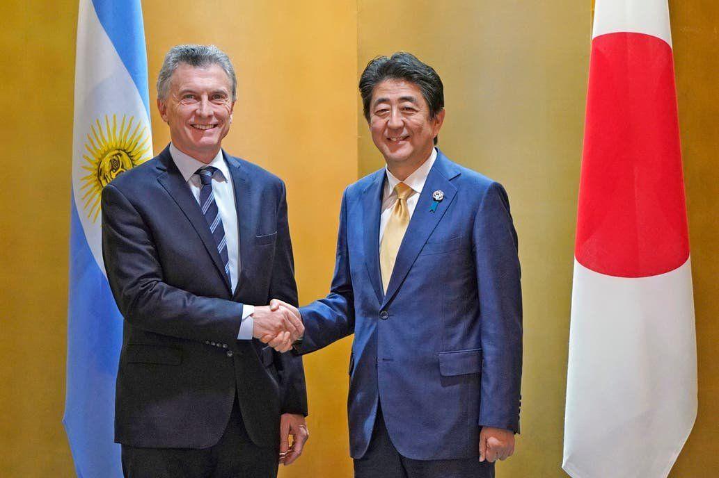 Macri se reunió con el primer ministro de Japón y ratificó la sociedad comercial