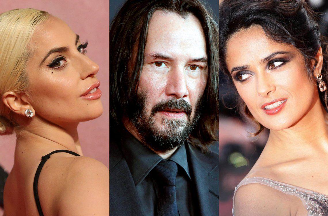 ¿Lady Gaga, Keanu Reeves y Salma Hayek llegan a Marvel Studios?