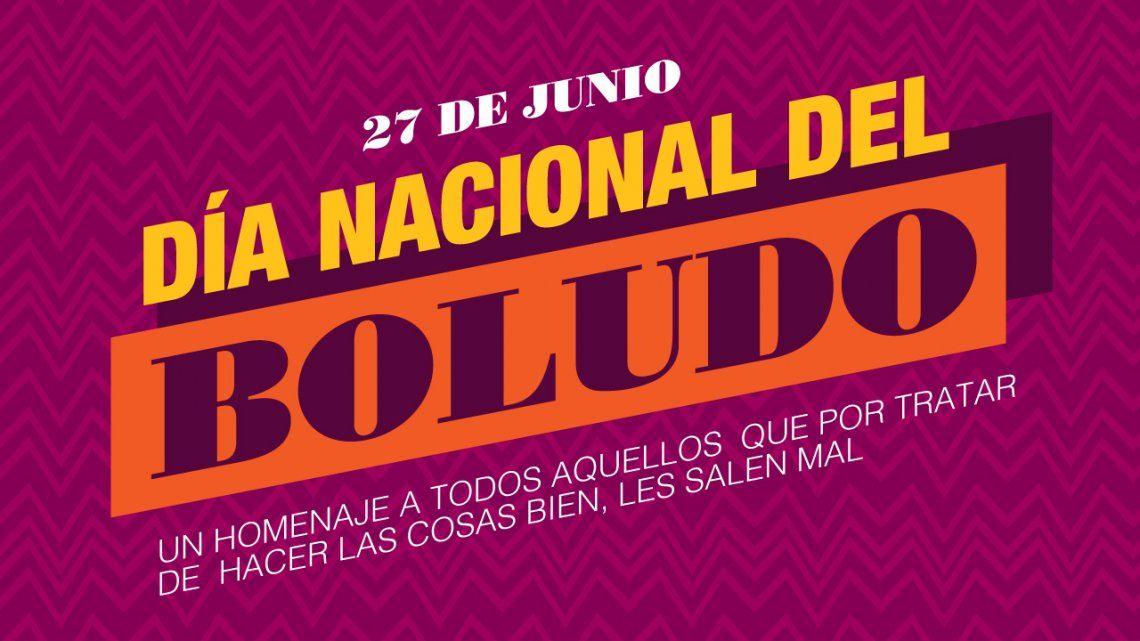 ¿Por qué se celebra hoy el Día Nacional del Boludo?