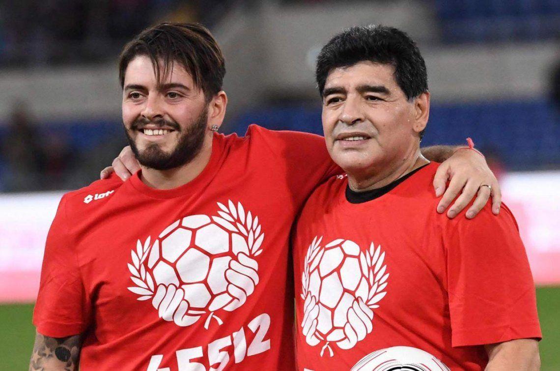 Diego Maradona será nuevamente abuelo
