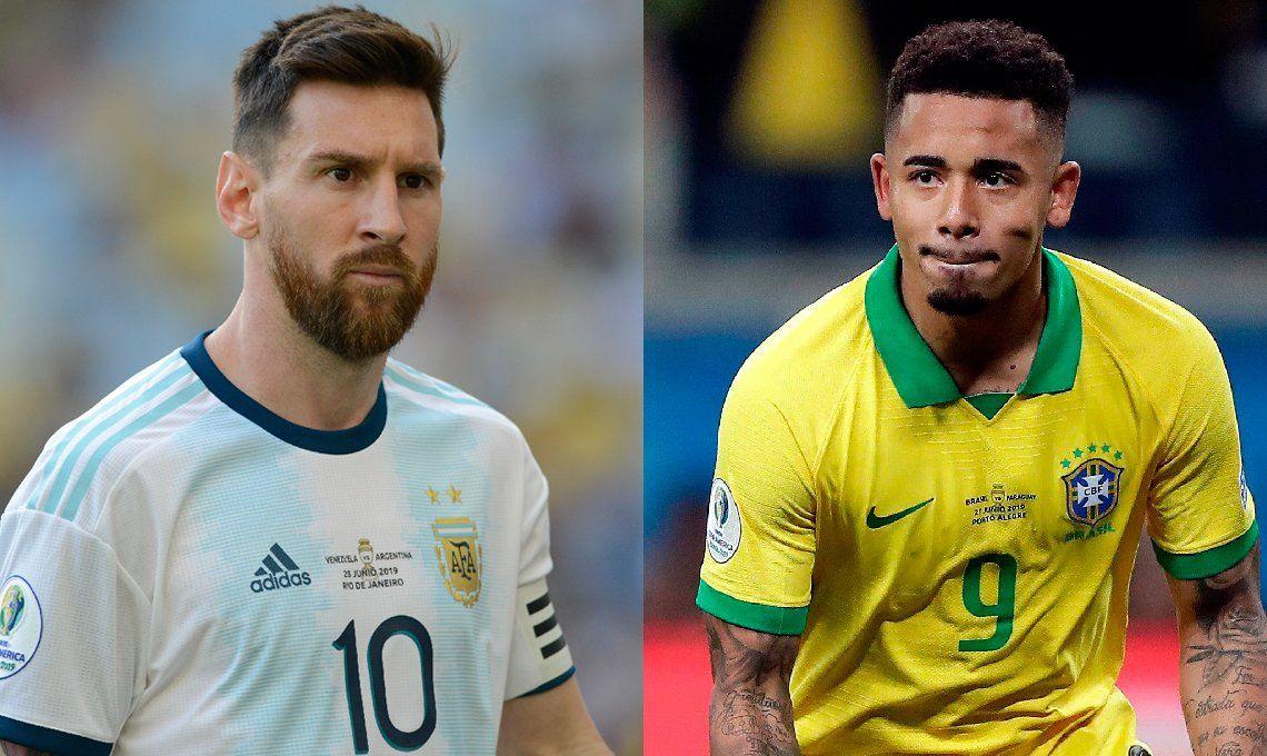 Argentina-Brasil | ¿Qué plantel gana el duelo de cotizaciones?