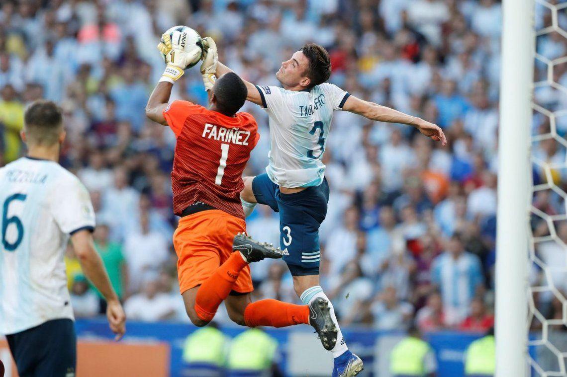 Copa América: las mejores fotos del triunfo de Argentina ante Venezuela