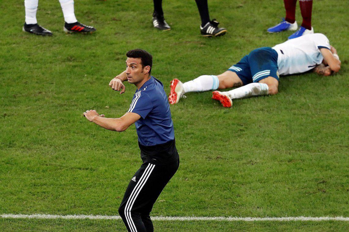 Nada que tocar: Scaloni confirmó a los mismos 11 en la Selección para enfrentar a Brasil