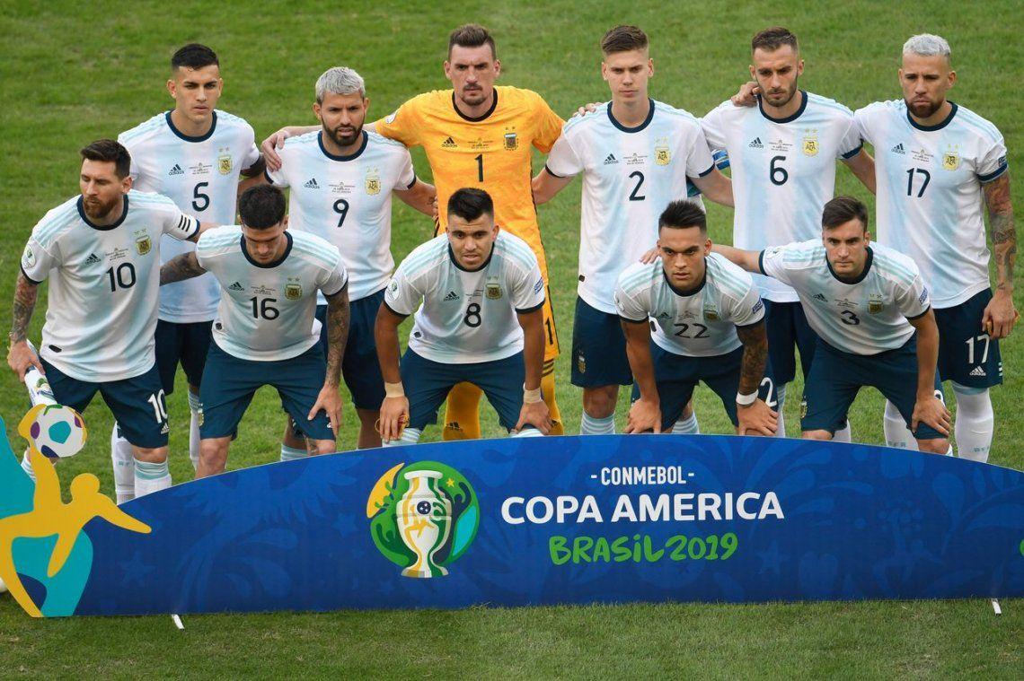 Scaloni planea un once con cinco cambios para enfrentar a Chile en el partido por el tercer puesto en la Copa América
