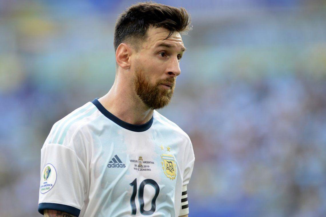 ¿Qué le pasa? La autocrítica de Messi por su nivel en la Copa América