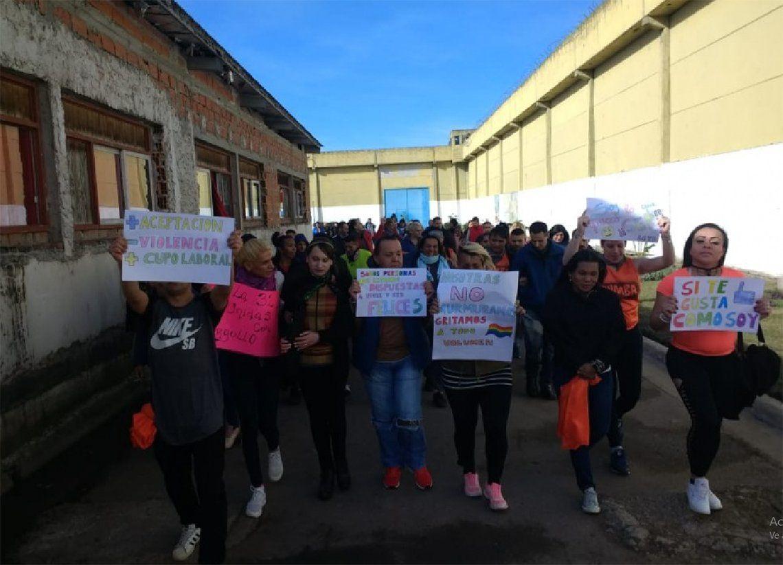 Florencio Varela; festejo del Orgullo LGTB en la cárcel