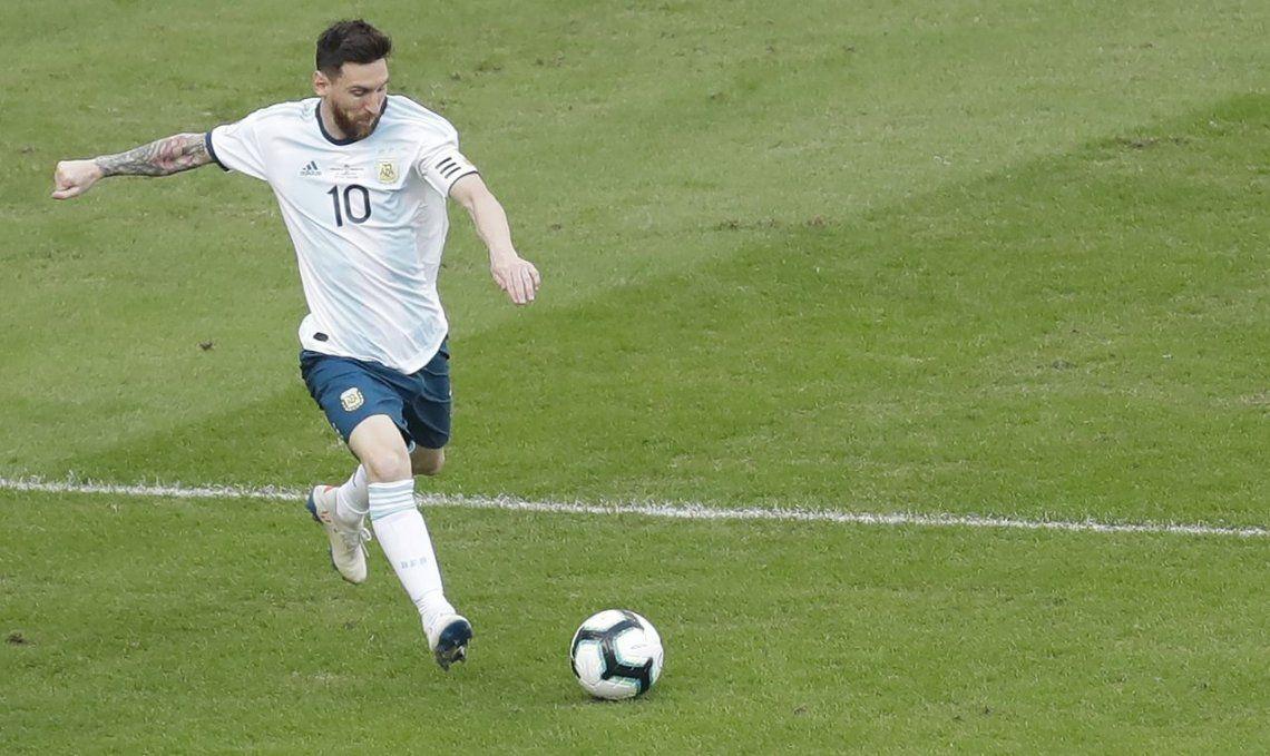 Cuando Messi no se parece a Messi