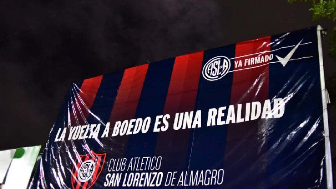No al estadio en Boedo, el SMS que le llegó a miles de habitantes en Capital contra el retorno de San Lorenzo