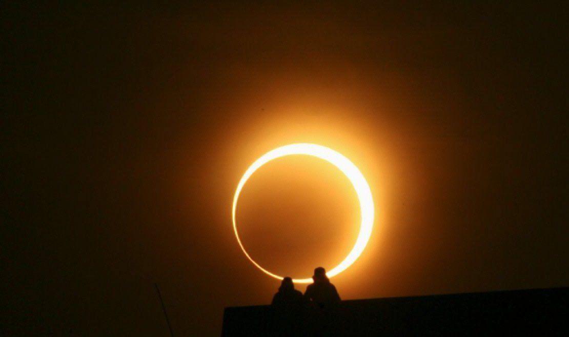 Tiempo de descuento para el eclipse