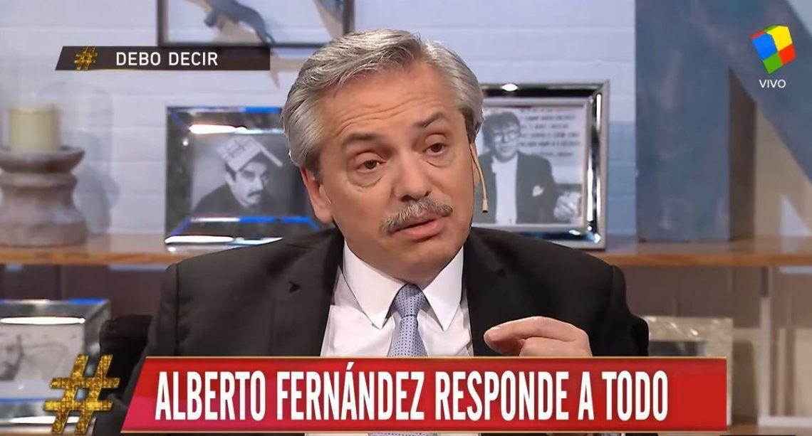 Alberto Fernández en #DeboDecir: Garantizo que voy a gobernar yo, Cristina es la vice