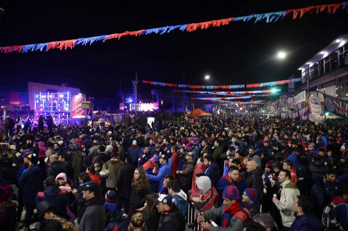 San Lorenzo: toda la emoción de la vuelta a Boedo, en fotos