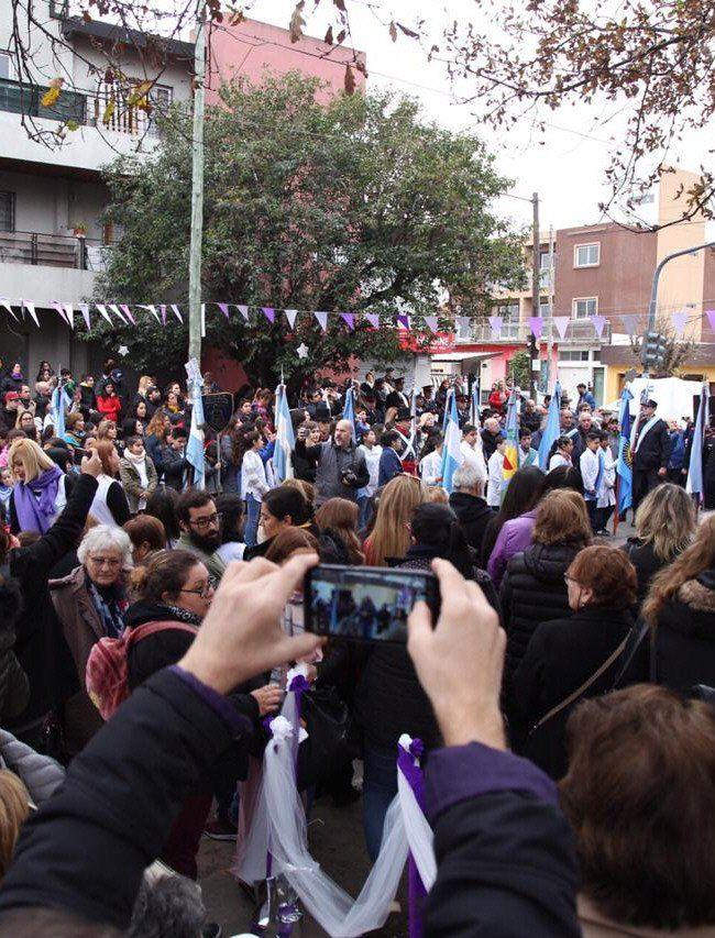 Quilmes: celebran el centenario de la Escuela Primaria N°83 Don Pedro de Mendoza de La Colonia