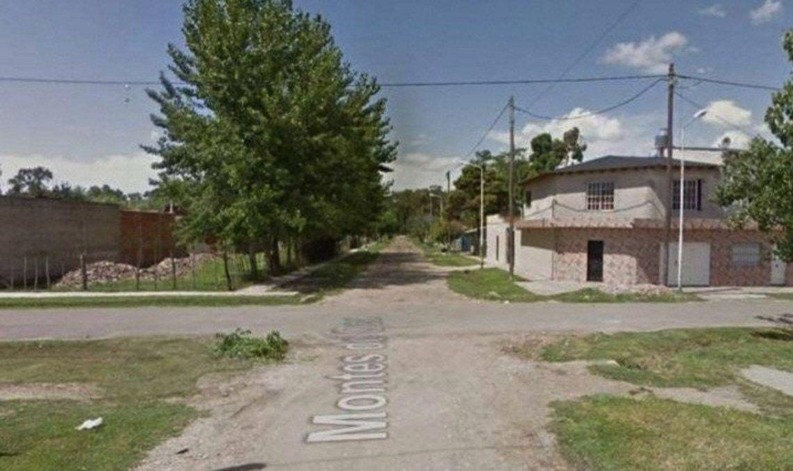 En esta zona encontraron al remisero muerto dentro de un auto Chevrolet Prisma Joy.