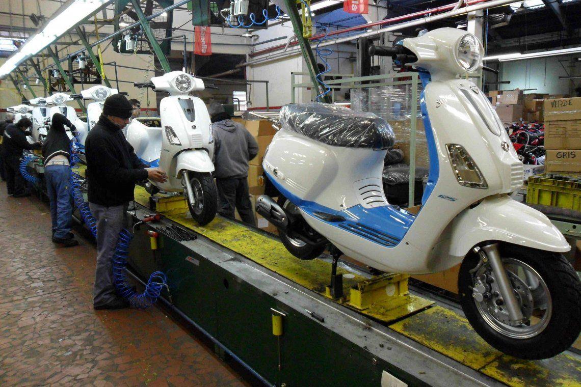 Cayó un 30% el patentamiento de motos en agosto