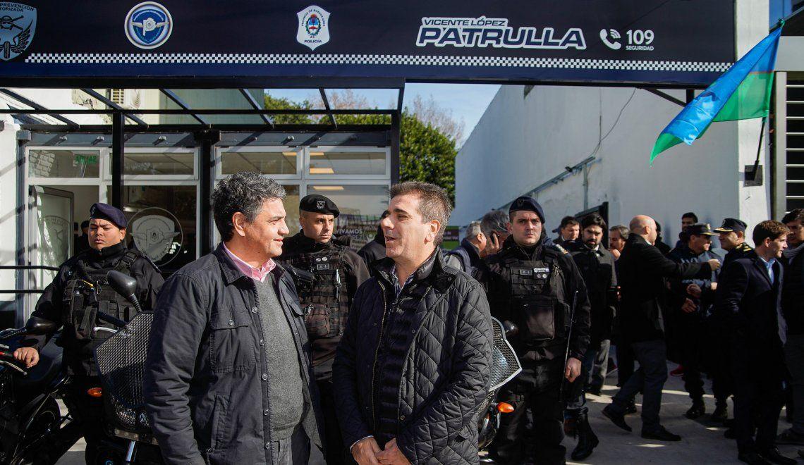 Jorge Macri y Cristian Ritondo