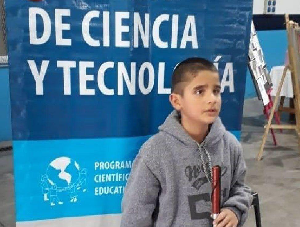 Berazategui: campaña solidaria para Sebastián Monzón, el nene de 10 años que debe viajar a China para operar de la vista