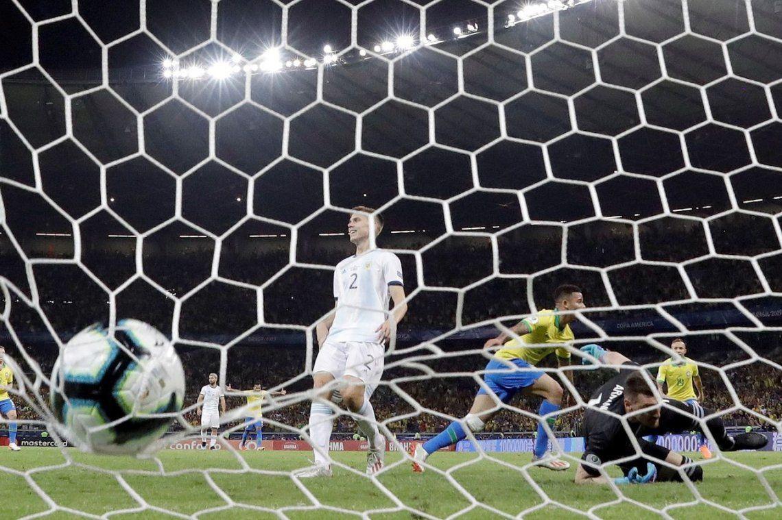 Brasil-Argentina: las fotos de la semifinal