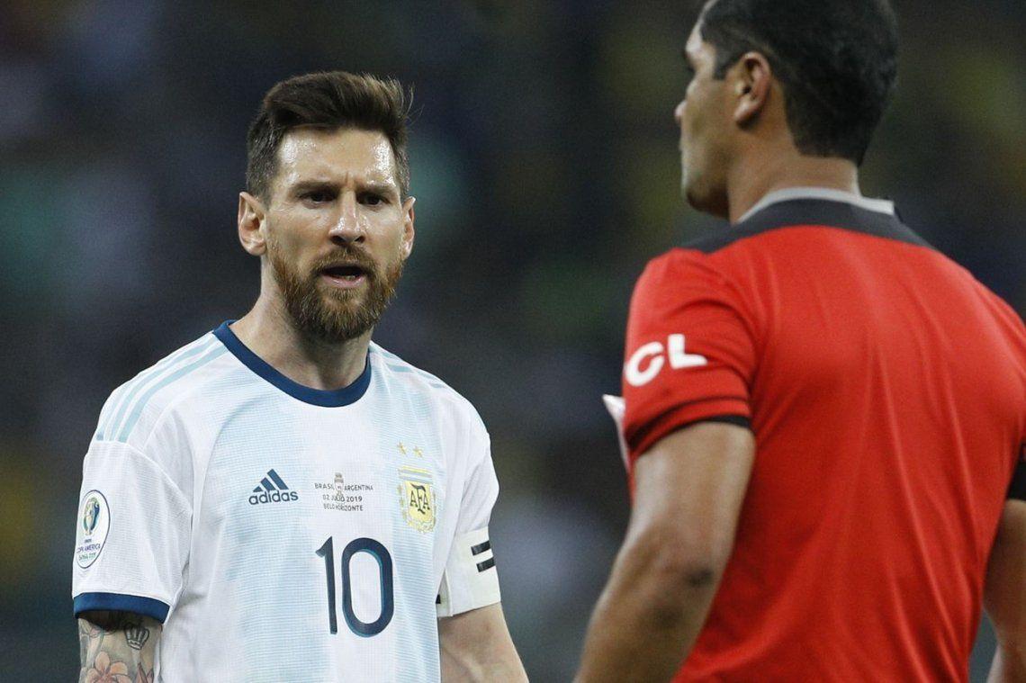 Messi, muy caliente: Con el VAR se cansan de cobrar boludeces y hoy no lo usaron