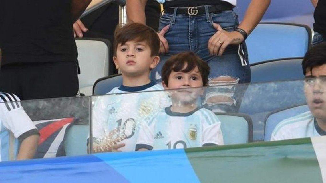 Mateo Messi y su show en la semifinal de Argentina contra Brasil