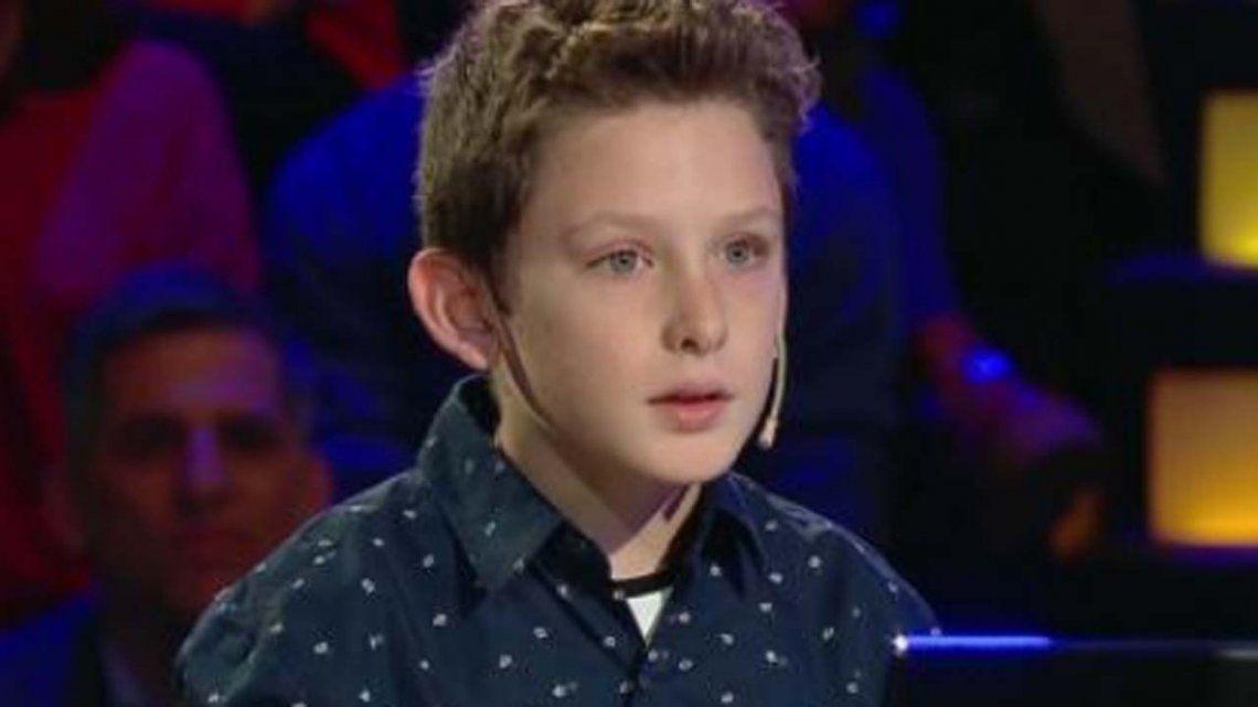 Un nene de 10 años participó en ¿Quién quiere ser millonario? y hubo polémica