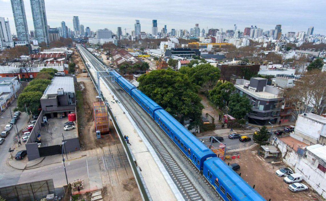 Ya se iniciaron las pruebas con la circulación de trenes por el viaducto.