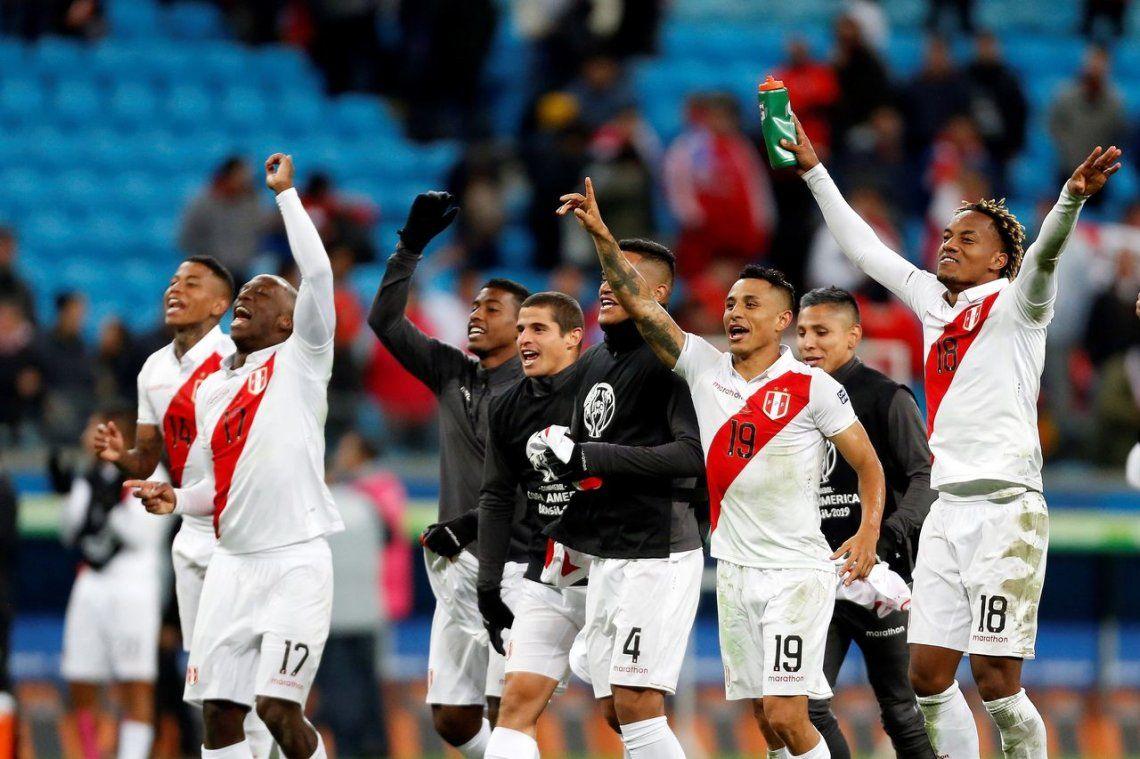 El Tigre Gareca lo hizo: Perú goleó a Chile y es finalista de la Copa América después de 44 años