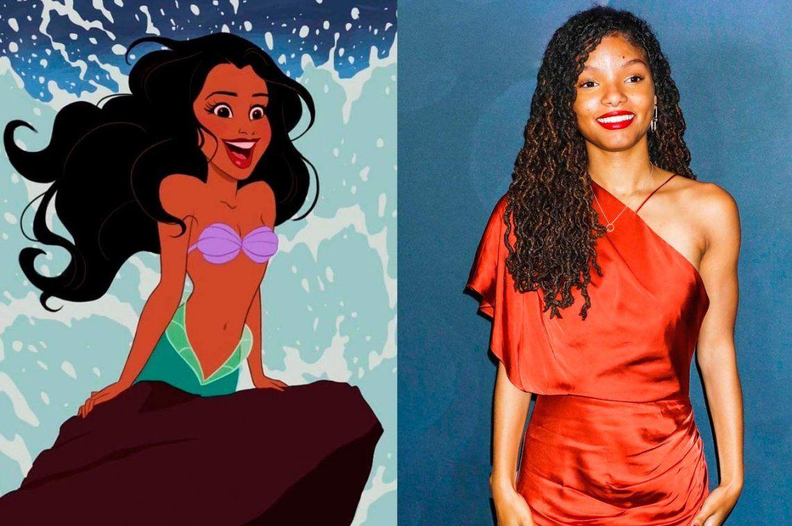 Disney se jugó y eligió a la nueva Sirenita: la afroamericana Halle Bailey