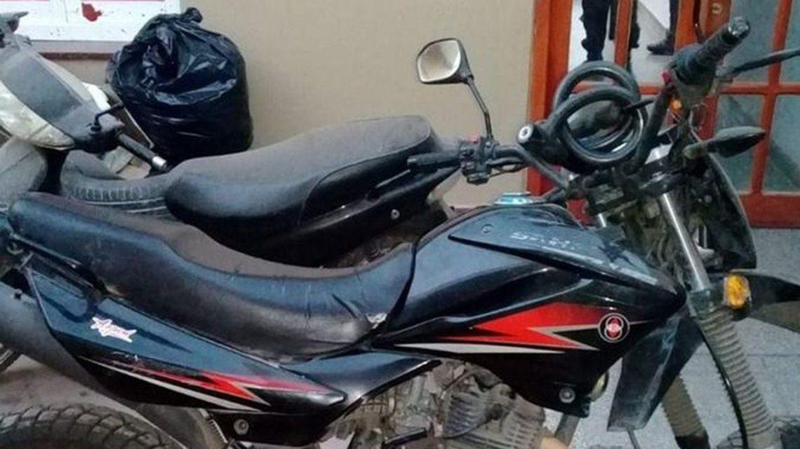 Jujuy: detuvieron a un policía que robó en modalidad motochorro