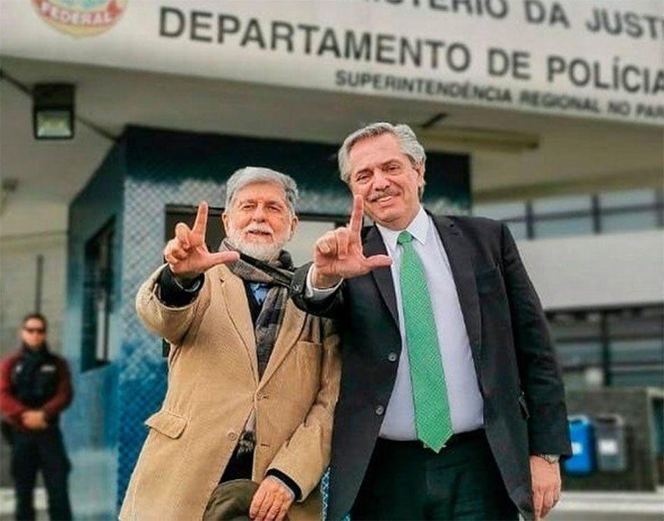 Alberto Fernández: Vine a expresarle mi respaldo a Lula
