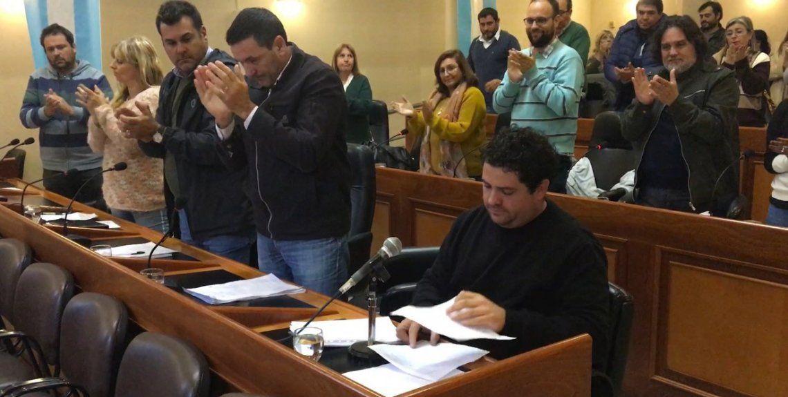 Godoy aprovechó la Banca del Vecino para contar su experiencia y presentar la iniciativa.