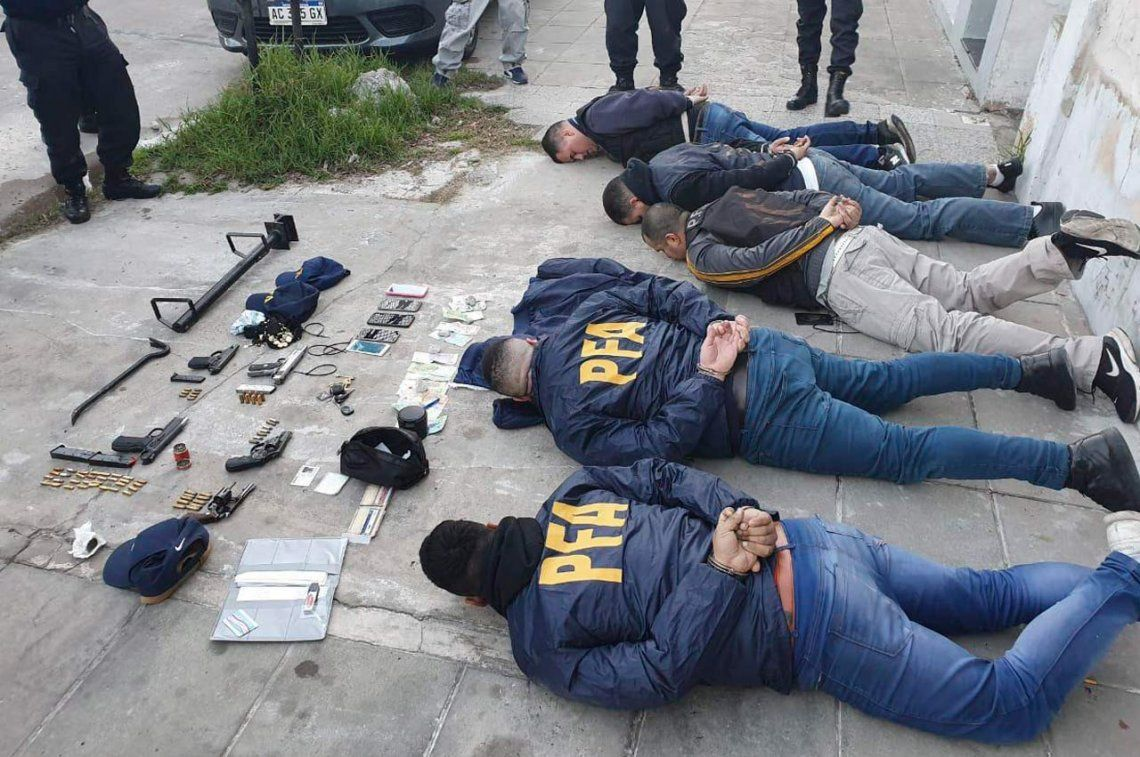 Avellaneda: Detuvieron a una banda de falsos policías que allanaban para robar