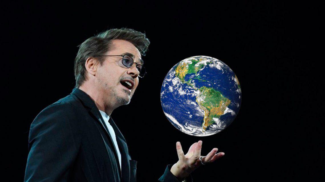 Un héroe del mundo real: Robert Downey Jr. busca limpiar la Tierra en menos de 10 años