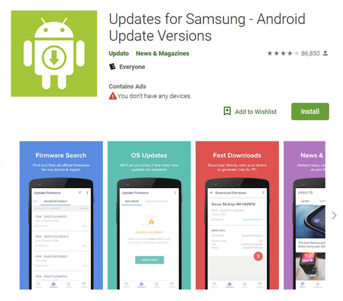 La aplicación que engañó a millones de usuarios de Samsung en todo el mundo