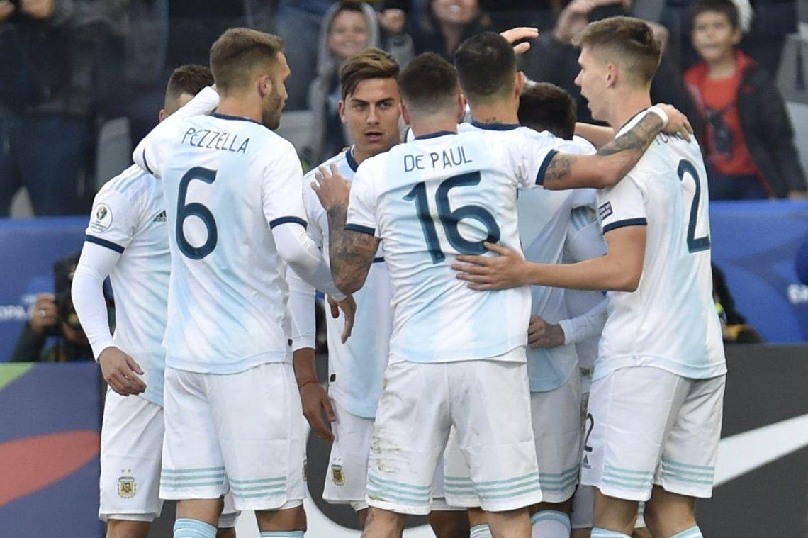 Los goles: clase de definición a cargo de Agüero y Dybala