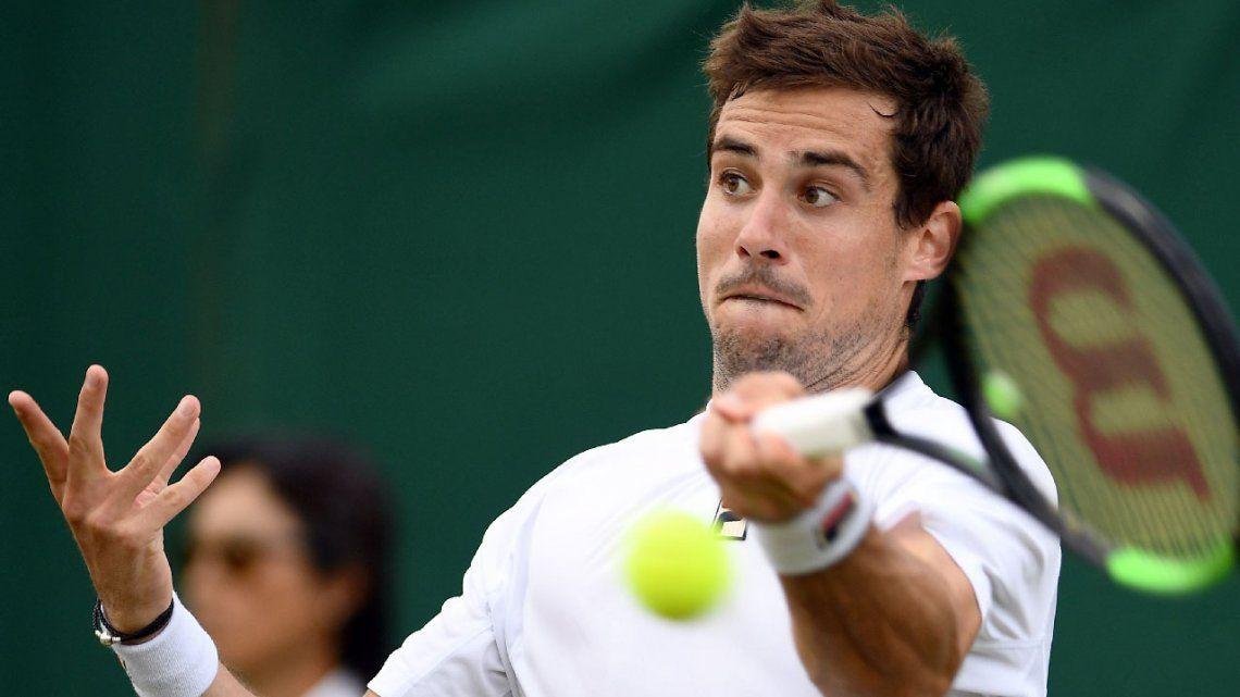 Guido Pella metió otra batacazo en Wimbledon: le ganó a Raonic y está en cuartos de final